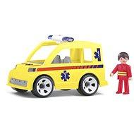 Igráček Genfamilie - Ambulance mit Retter - Spielset