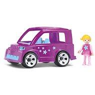 Igráček Genfamilie - Auto mit Pinky Stern - Spielset