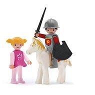 Igráček Trio - Prinzessin, Ritter und White Horse - Spielset