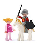 IGRÁČEK Trio - Princezna, rytíř a bílý kůň - Herní set