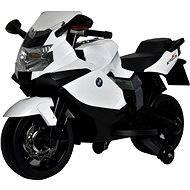 Elektrická motorka BMW K1300 bílá - Elektrická motorka