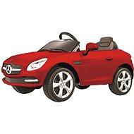 Electric car Mercedes SLK red