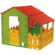 Farm playhouse with a porch