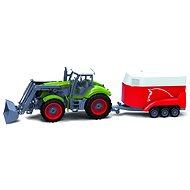 BRC 28611 Traktor mit Anhänger auf Pferden - RC Model