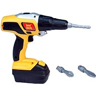 Set of tools with cordless drill