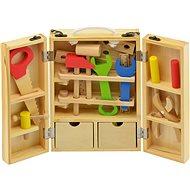 Werkzeuge im Holzkasten - Spielset
