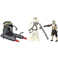 "Star Wars - 3.75 ""figurine 2 pack - Scarif Stormtrooper and Squad Leader"