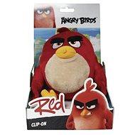 Angry Birds s přívěskem - Red - Plyšová figurka