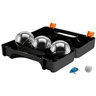 Dunlop Petanque in a 3-piece black case - Outdoor Game