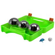 Dunlop Petanque in a suitcase of 3 green - Outdoor Game