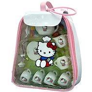 Hello Kitty - čajová sada v igelitovém batůžku - Herní set