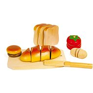 Holz Essen - Slicing - Spielset