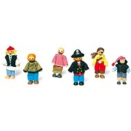 Dolls in the house - Characters pirates