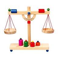 Dřevěné potraviny - Páková váha - Herní set