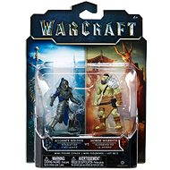Warcraft - Alliance soldier a Horde Warrior - Figurka