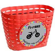 Red basket on your bike