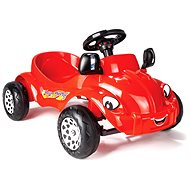Speedy Herby červené - Šlapací čtyřkolka