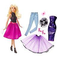 Mattel Barbie - Modelka a šaty blondýnka - Panenka