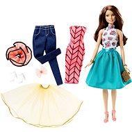 Mattel Barbie - Modelka a šaty brunetka