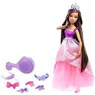 Mattel Barbie - Hohe Prinzessin mit dem dunklen langen Haar