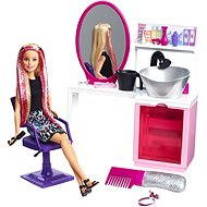 Mattel Barbie - Hair Salon with glitter with a blonde