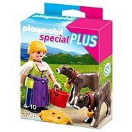 PLAYMOBIL® 4778 Bäuerin mit Kälbchen