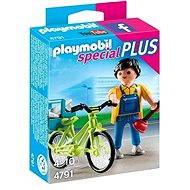 PLAYMOBIL® 4791 Handyman with Bike - Building Kit