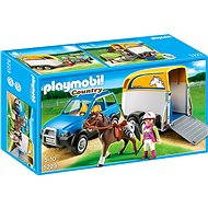 PLAYMOBIL® 5223 SUV with Horse Trailer