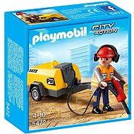 PLAYMOBIL® 5472 Arbeiter mit Presslufthammer