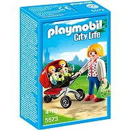 Playmobil 5573 Baby carriages for twins