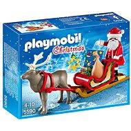 Playmobil 5590 Santa na saniach