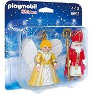 PLAYMOBIL® 5592 Nikolaus mit einem Engel