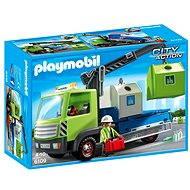 Playmobil 6109 Nákladné vozidlo s kontajnermi na sklo