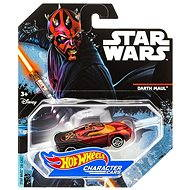 Mattel Hot Wheels - Star Wars Angličák Darth maul