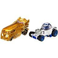 Hot Wheels - Star Wars - R2-D2 a C-3PO - Sada autíček