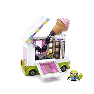 Mattel Fisher Price Mega Bloks Mimoňovia - zmrzlinárskej voz