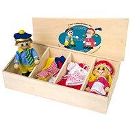 Šatník pro panenky + 2 panenky - Herní set