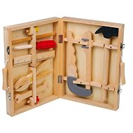 Wooden box with tools - Maik