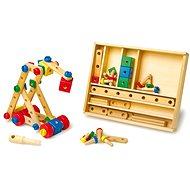 Dřevěná stavebnice konstrukční sada - Dřevěná hračka