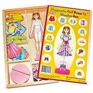 Changing magnetic doll - Magda - Play Set