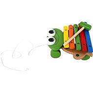 Xylofón žába - Hudební hračka