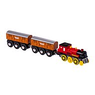 Electric locomotive with 2 wagons - Train Tracks Accessories