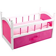 Wooden bed for dolls