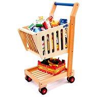 Detský drevený nákupný vozík - Príslušenstvo k bábike
