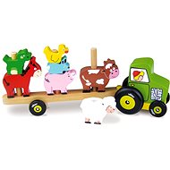 Traktor mit Tieren - Deployment