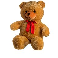 Bear with bow - light brown