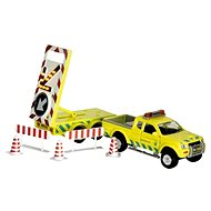 Towing service with trailer - Car