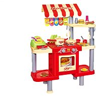 Kids shop with fast food