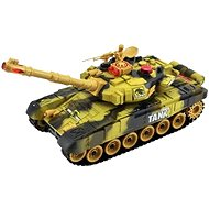 Tank with a charging pack - Yellow - RC Model