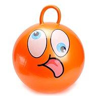 Skákací míč - Smajílk oranžový - Hopsadlo